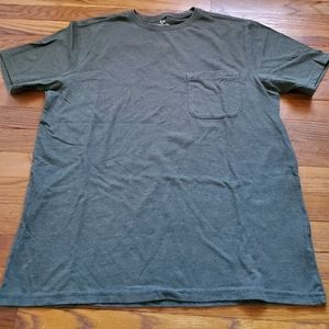 Men's Outdoor Life Tee T shirt gray size large…